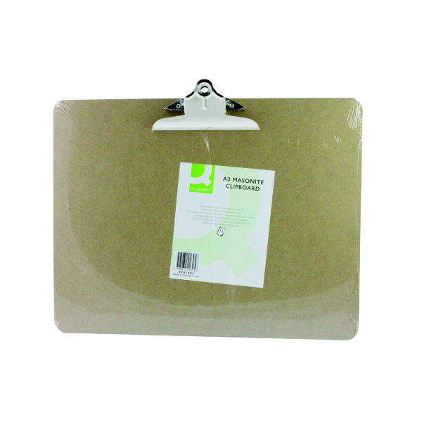 A3 Size Q-Connect Masonite Clipboard A3 KF01305