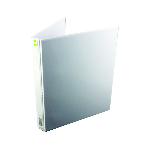 Q-Connect Presentation 16mm A4 White 4D-Ring Binder (6 Pack) KF01324Q