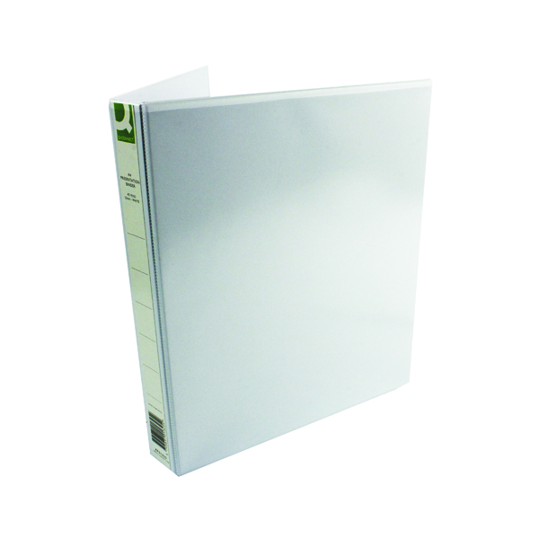25mm Q-Connect Presentation 25mm A4 White 4D-Ring Binder (6 Pack) KF01325Q