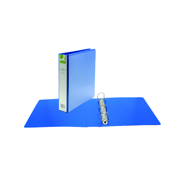 Q-Connect Presentation 40mm 4D Ring Binder A4 Blue KF01331