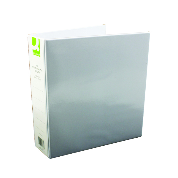 Q-Connect Presentation 50mm 4D Ring Binder A4 White (6 Pack) KF01333Q