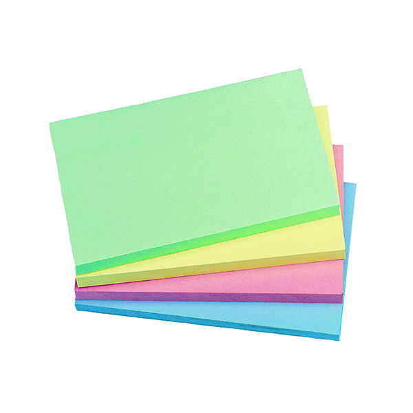 Q-Connect Quick Notes 76 x 127mm Pastel (12 Pack) KF01349