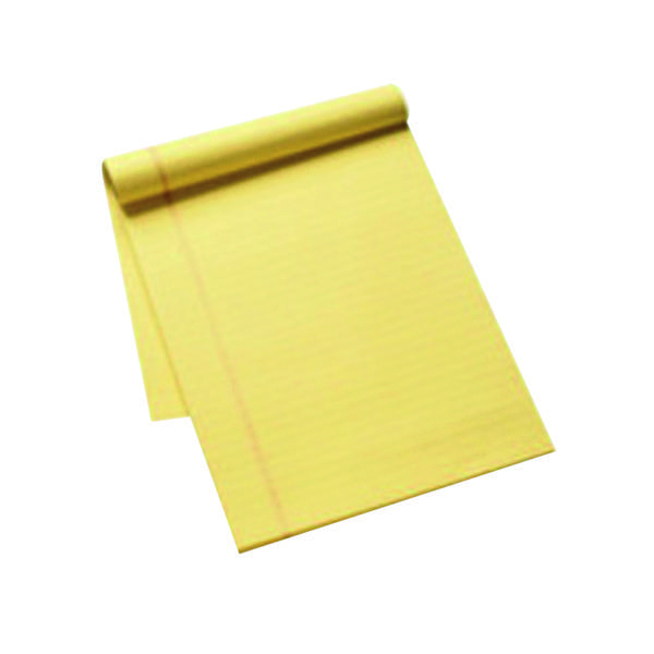 Ruled Q-Connect Ruled Stitch Bound Executive Pad 50 Pages A4 Yellow (10 Pack) KF01387