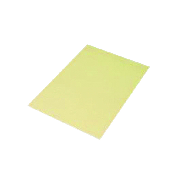Q-Connect Feint Ruled Board Back Memo Pad 160 Pages A4 Yellow (10 Pack) KF01388