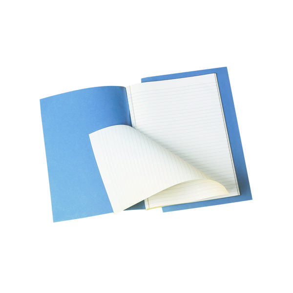 Q-Connect Feint Ruled Counsels Notebook 96 Pages A4 (10 Pack) KF01390