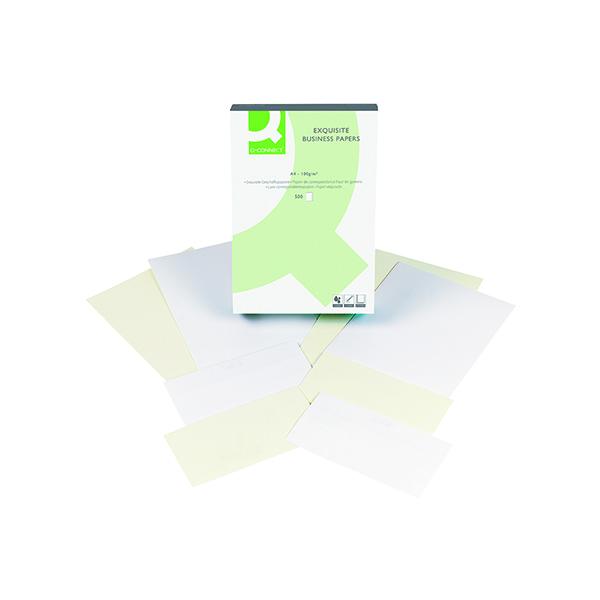 Q-Connect Laid Antique Vellum A4 Business Paper 100gsm (500 Pack) KF01436