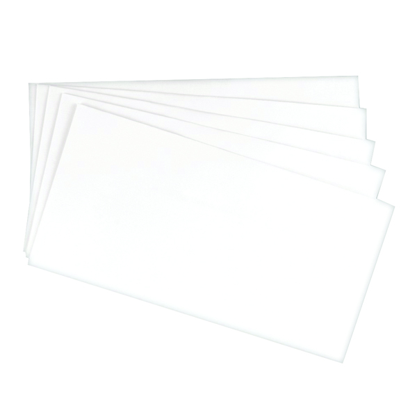 White Plain Q-Connect DL White Laid Business Envelope (500 Pack) KF01439