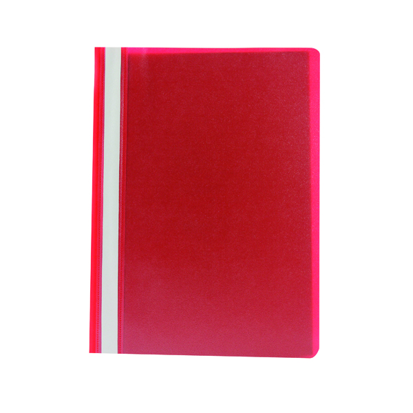 A4 Q-Connect Project Folder A4 Red (25 Pack) KF01455