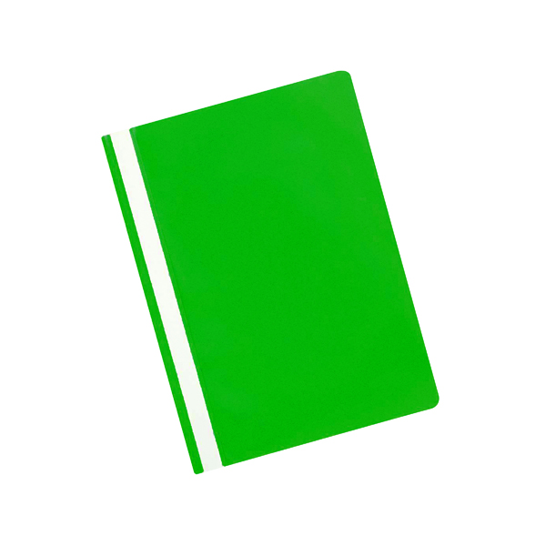A4 Q-Connect Project Folder A4 Green (25 Pack) KF01456