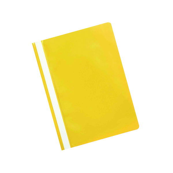 Q-Connect Project Folder A4 Yellow (25 Pack) KF01457