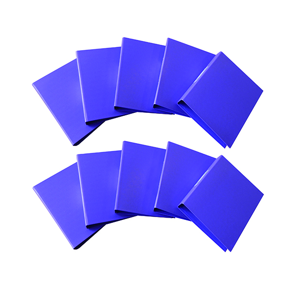 A4 Size Q-Connect 25mm 2 Ring Binder Polypropylene A4 Purple (10 Pack) KF01474