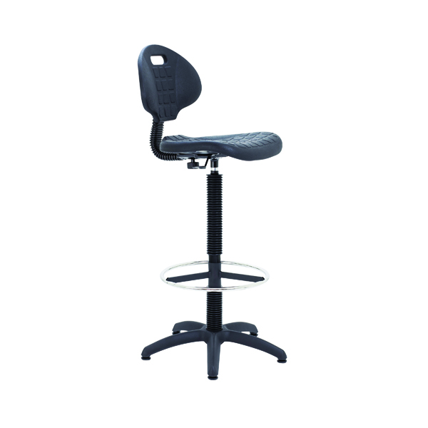 Industrial Jemini Draughtsman Chair Black KF017052
