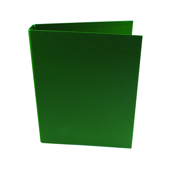 A4 Size Q-Connect 25mm 2 Ring Binder Polypropylene A4 Green (10 Pack) KF02004