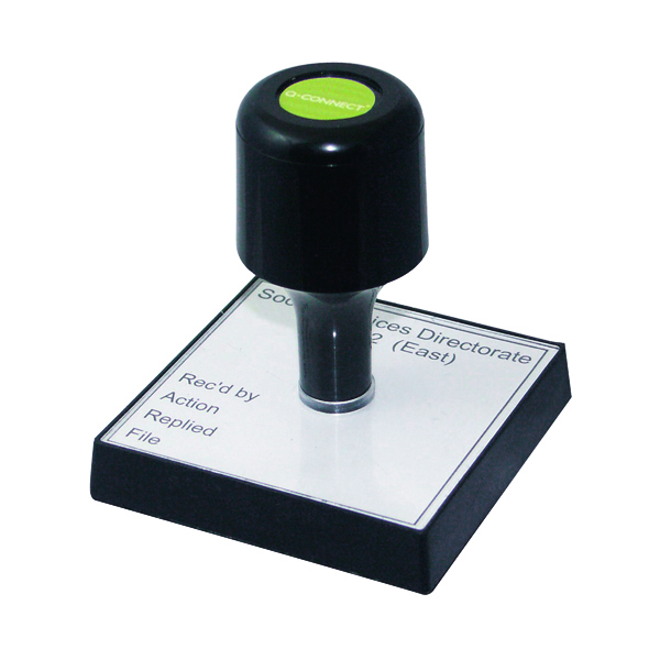 Bespoke Q-Connect Voucher for Custom Rubber Stamp 90 x 55mm KF02104