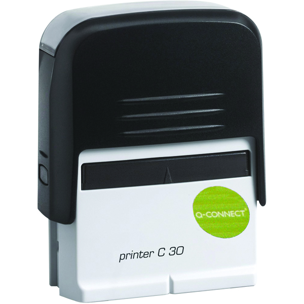 Bespoke Q-Connect Voucher for Custom Self-Inking Stamp 45 x 15mm KF02111