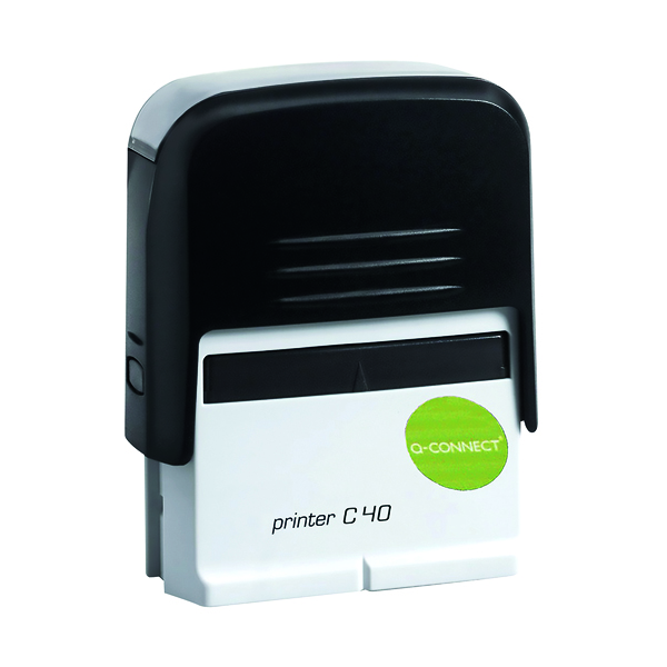 Bespoke Q-Connect Voucher for Custom Self-Inking Stamp 57 x 20mm KF02112