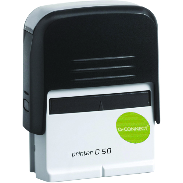 Bespoke Q-Connect Voucher for Custom Self-Inking Stamp 72 x 33mm KF02114