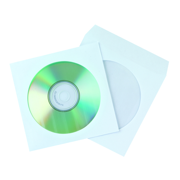 Q-Connect CD Envelope Paper (50 Pack) KF02206