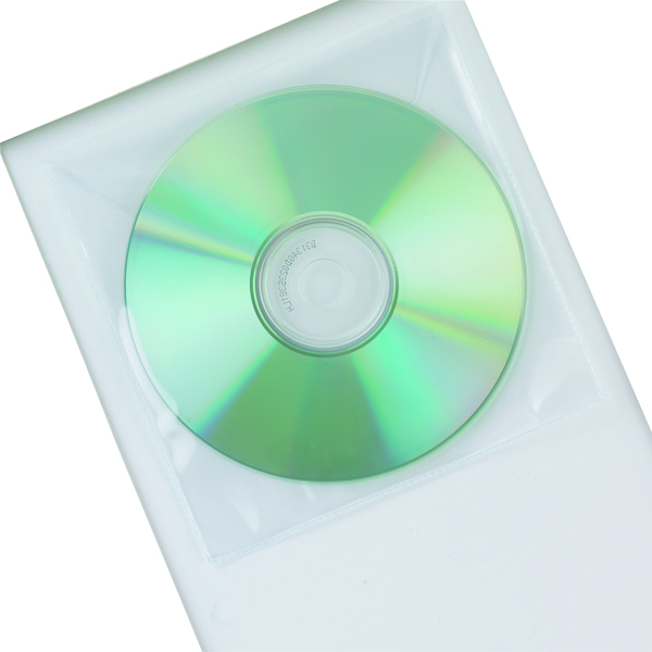 Q-Connect Polypropylene CD Envelope (50 Pack) KF02207