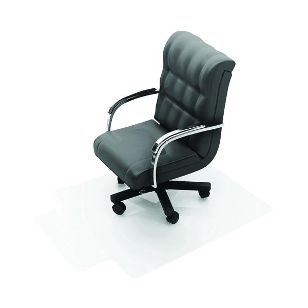 For Hard Floors Q-Connect Chair Mat PVC 914x1219mm Clear KF02255