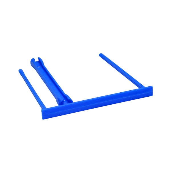 Clips Q-Connect Binding E-Clip Blue (100 Pack) KF02282