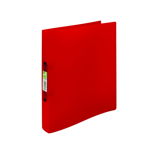 A4 Size Q-Connect 2 Ring Binder Frosted A4 Assorted (12 Pack) KF02488