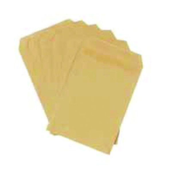 Q-Connect C4 Envelopes Pocket Self Seal 80gsm Manilla (250 Pack) KF02720