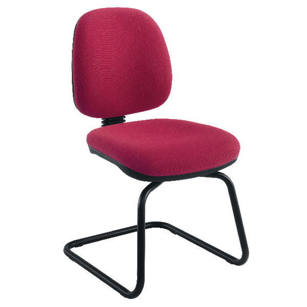 Reception Chairs Jemini Sheaf Medium Back Visitor Chairs KF02736
