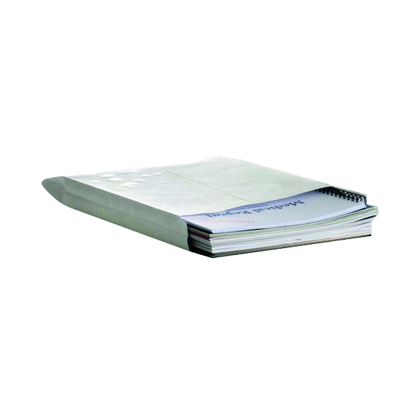 Gusset Plain & Window Q-Connect C4 Envelopes Gusset Peel and Seal 120gsm White (125 Pack) KF02890