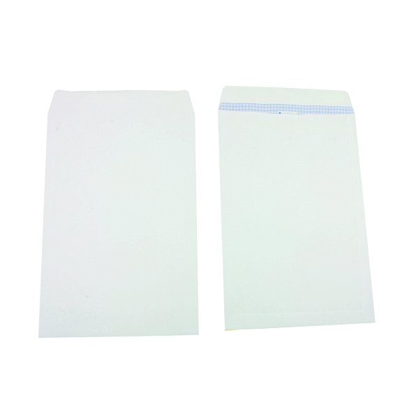 Q-Connect  B4 Envelope 353x250mm Pocket Self Seal 100gsm White (250 Pack) KF02896