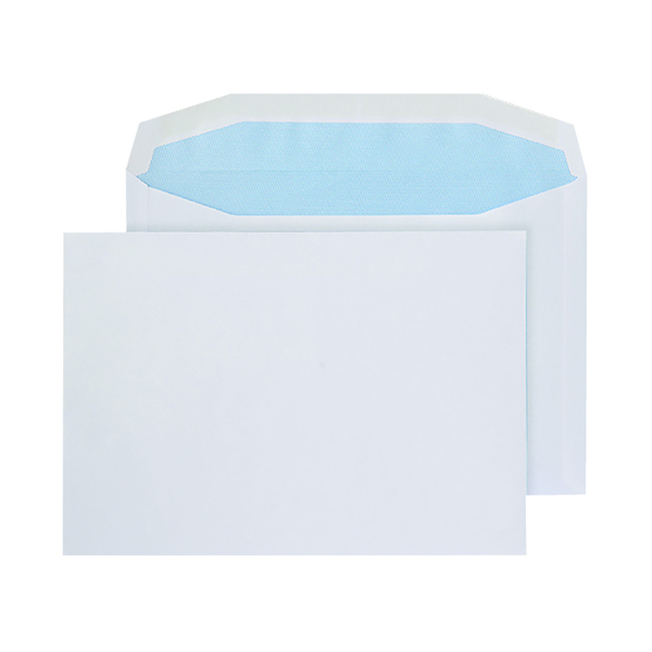Plain Q-Connect Machine Envelope 162x238mm Gummed 90gsm White (500 Pack) KF02897