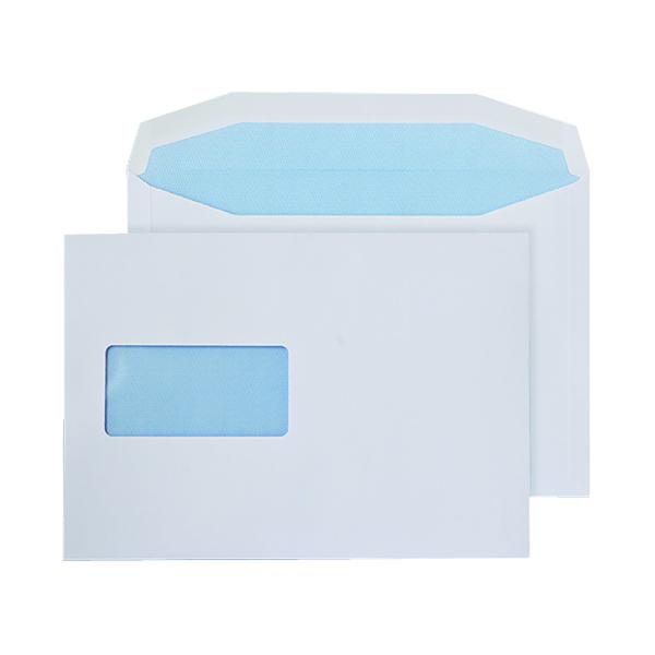Q-Connect Machine Envelope 162x238mm Window Gummed 90gsm White (500 Pack) KF02898