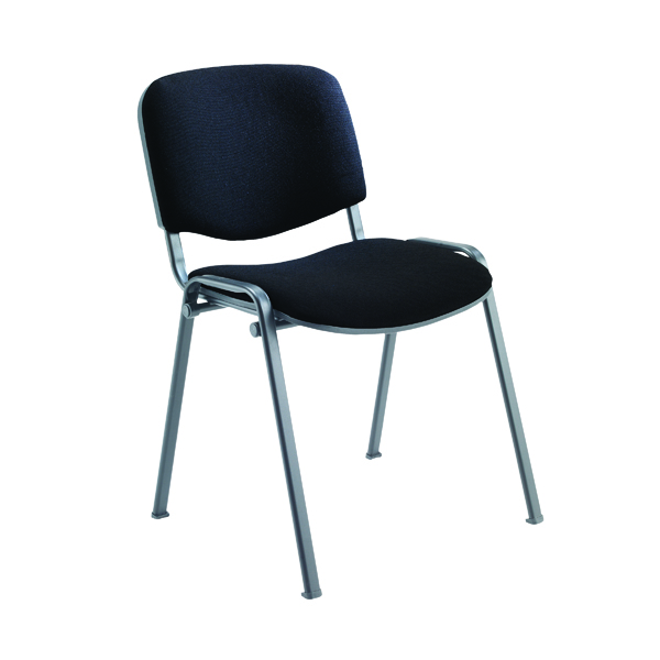 Stacking Jemini Ultra Multi Purpose Stacking Chair Charcoal/Black KF03344