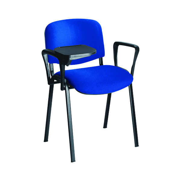 Stacking Jemini Chair Arm and Writing Tablet Black KF03347