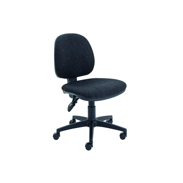 Medium Back Arista Concept Medium Back Permanent Contact Operator Charcoal Chair KF03453