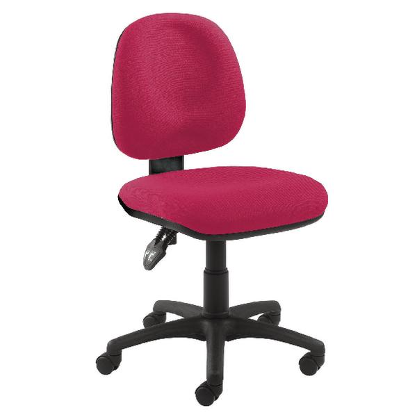 Arista Concept Medium Back Permanent Contact Operator Claret Chair KF03454