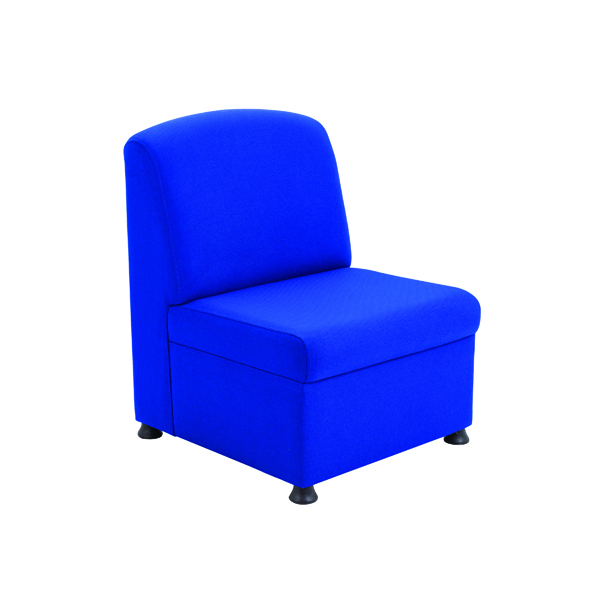 Unspecified Arista Blue Modular Reception Chair KF03489