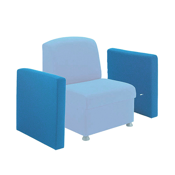 Seating Accessories Arista Blue Modular Unit Universal Arm KF03492