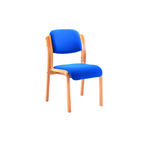 Unspecified Jemini Blue Wood Frame Side Chair No Arms KF03512
