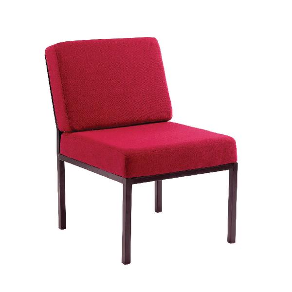 Jemini Reception Claret Chair KF03591