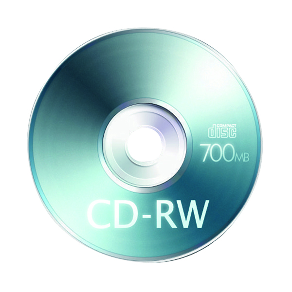 Blu Ray Q-Connect CD-RW Slimline Jewel Case 80mins 700MB KF03718