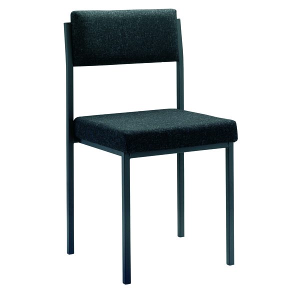 Stacking Jemini Multi Purpose Stacking Chair Charcoal KF04000