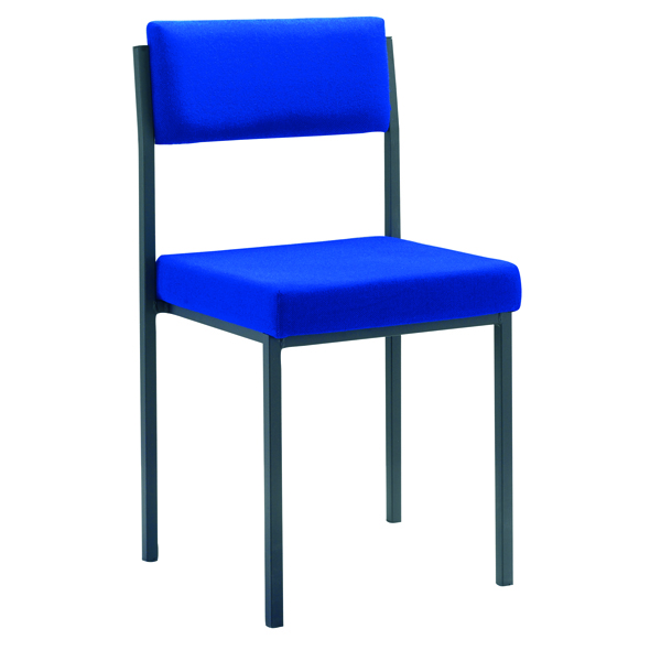 Stacking Jemini Multi Purpose Stacking Chair Blue KF04002
