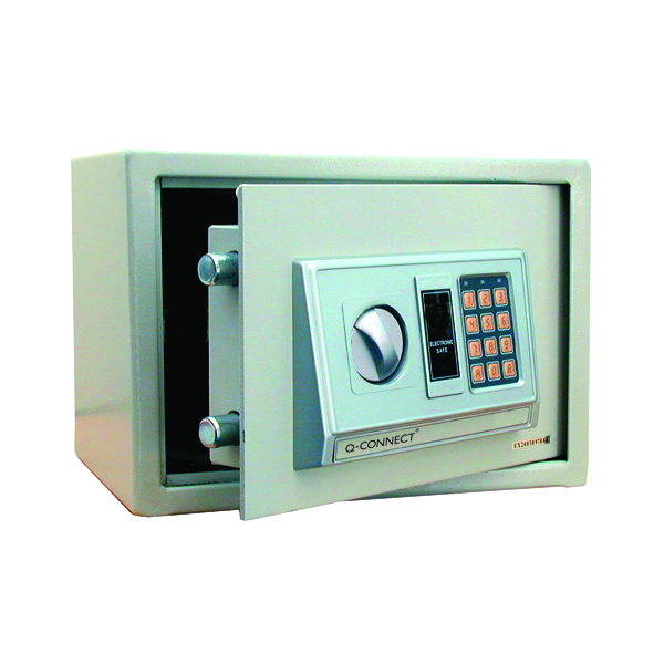 Q-Connect Electronic Safe 10 Litre W310xD200xH200mm KF04390