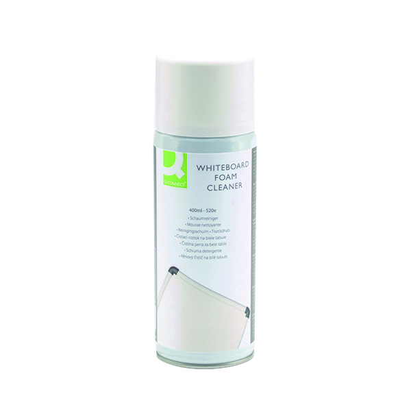 Cleaning/Erasing Q-Connect Whiteboard Surface Foam Cleaner KF04504