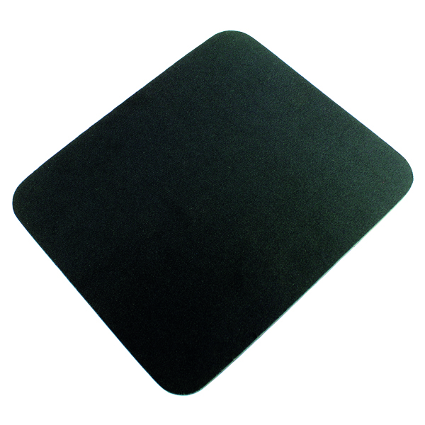 Q-Connect Black Economy Mouse Mat 29702