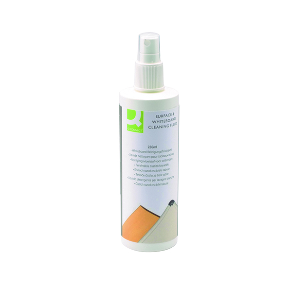 Cleaning / Erasing Q-Connect Whiteboard Surface Cleaner 250ml KF04552