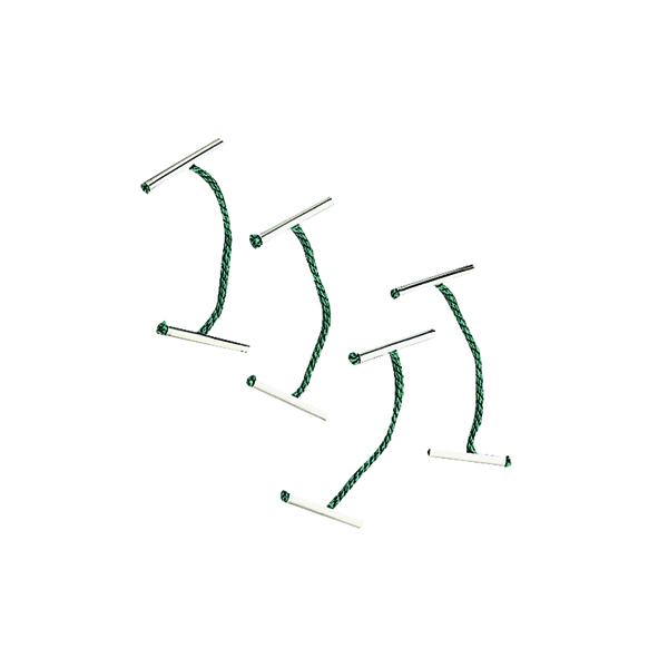 Others Q-Connect Metal Treasury Tag 76mm (100 Pack) KF04582