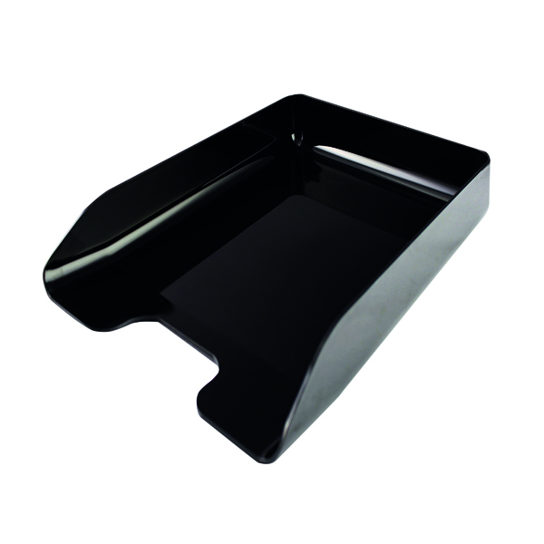 Letter Tray Q-Connect Executive Letter Tray Black CP125KFBLK