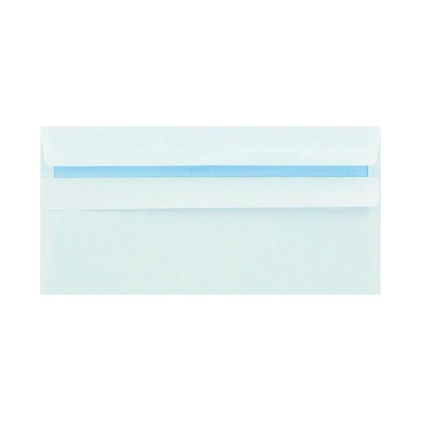 White Plain Q-Connect DL Envelope Wallet Self Seal 80gsm White (250 Pack) KF07556